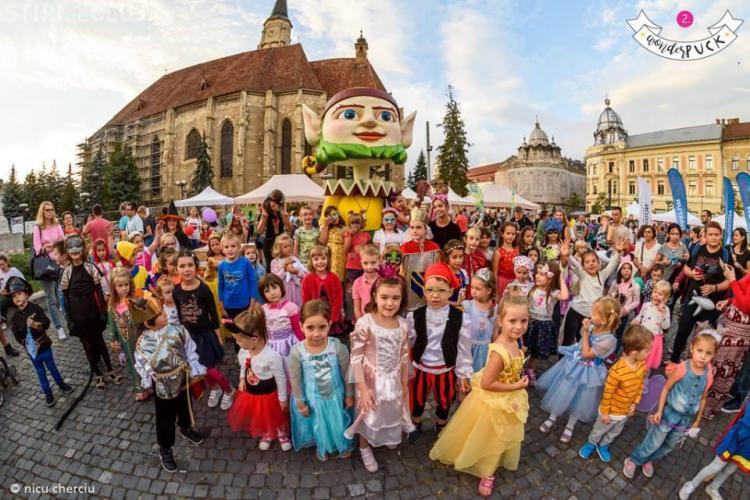 Peste 21.000 de spectatori la Festivalul stradal WonderPuck 2018 FOTO