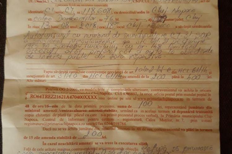 Culmea Poliției Locale din Cluj-Napoca! Ce a PĂTIMIT acest clujean este demn de o comedie