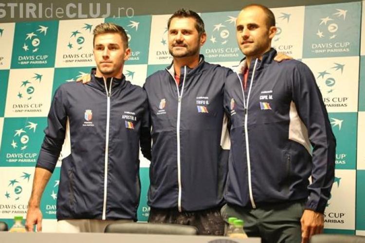 Mesajul echipei României înainte de meciul cu Polonia, de la Cluj, din Cupa Davis