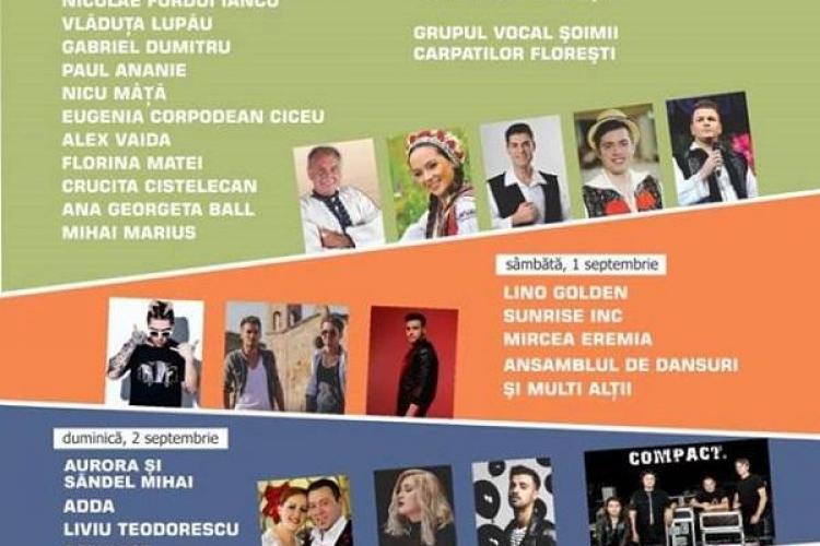 Program FloreștiFest 2018. Distracția va dura cinci zile