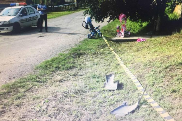 CLUJ: Apel DISPERAT pentru a fi ajutată Andreea, tânăra mămică accidentată la Borșa, de un șofer mort de beat