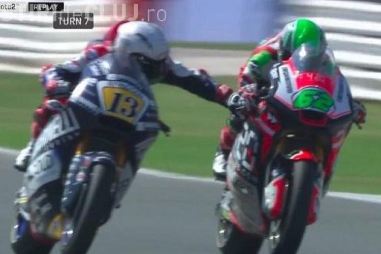VIDEO - Motociclistul care i-a tras frâna unui rival la peste 200 km la oră: Nu am fost om. E mizerabil