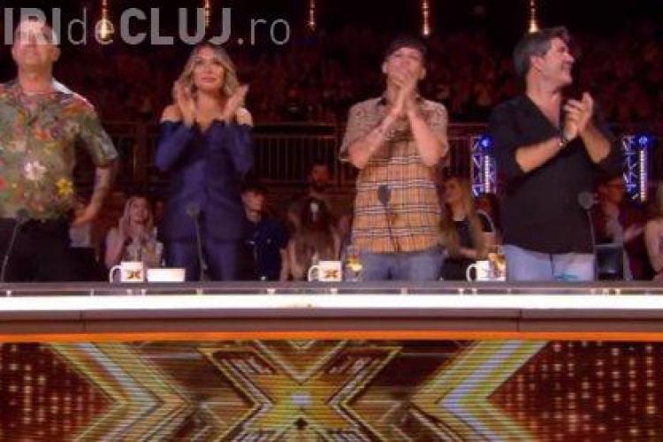 Cezar Ouatu a ajuns concurent la X Factor UK. I-a uimit pe jurați VIDEO