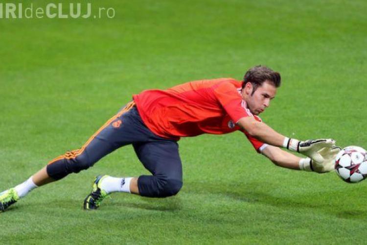 Conceicao i-a mulțumit portarului Jesus Fernandez pentru că a salvat CFR Cluj