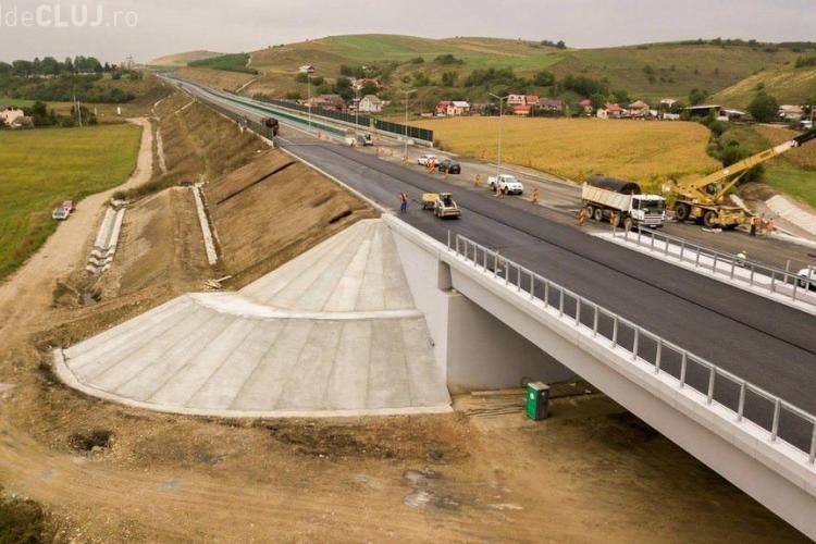 Când se deschide traficul pe autostrada Gilău - Nădășelu