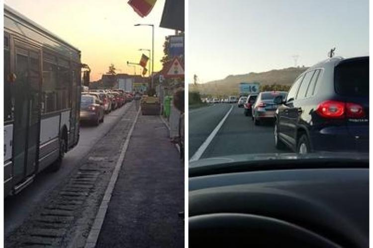 Baciu și Florești, probleme mari de trafic în fiecare zi pentru locuitori - FOTO