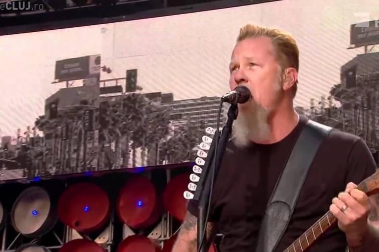 Alt concert mare la București! Trupa Metallica cântă în august 2019