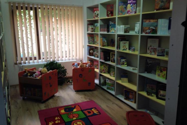 Cluj: Apare o nouă bibliotecă publică în cartierul clujean Grigorescu - FOTO