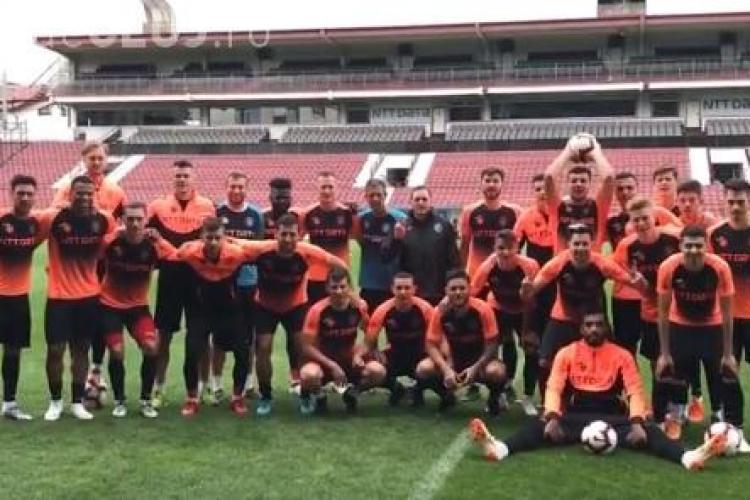Mesajul echipei CFR Cluj pentru suporteri VIDEO