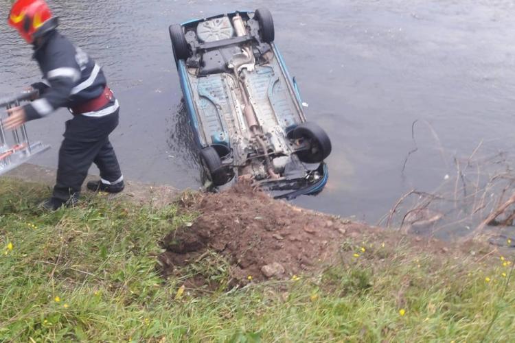 Un nou șofer a aterizat în Someș, lângă BT Arena. Trebuie ZID de beton pentru a-i opri?  - FOTO