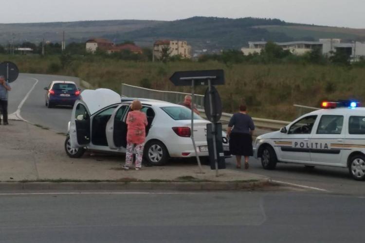 Accident pe centura Apahida. Șofer de 80 de ani vinovat - FOTO