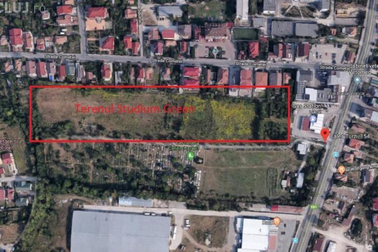 Cimitir privat între casele din Zorilor. Milionarii au intrare la Primăria Cluj-Napoca cu ajutorul bisericii