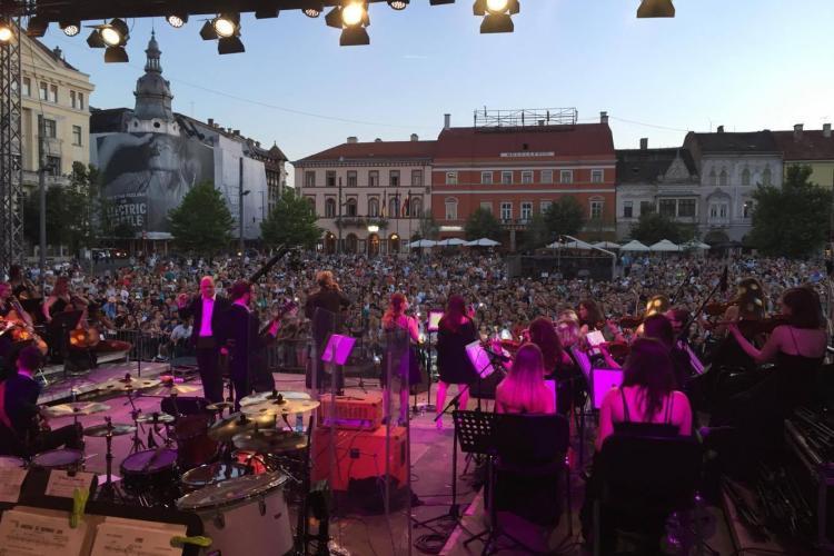 Festival gratuit de muzică la Cluj. Vezi ce artiști vor concerta în centrul orașului