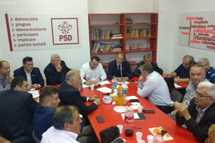 PSD Cluj a decis că îl susține pe Liviu Dragnea: Nu trebuie să demisioneze