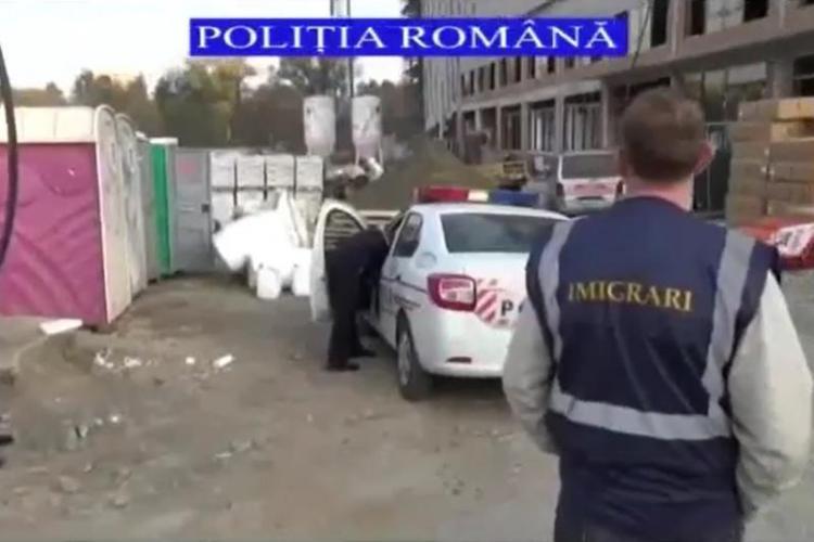 Controale de amploare pe șantierele din cartierul Gheorgheni VIDEO