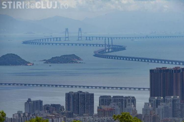 A fost inaugurat cel mai lung pod peste mare din toată lumea FOTO