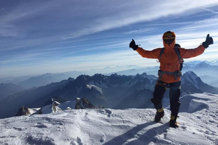 Alpinistul clujean Radu Albu, singurul român care a escaladat în 2018 un vârf de peste 8000 m