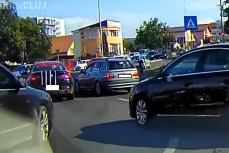BMW proaspăt reparat, la un pas să fie retrimis în service - VIDEO