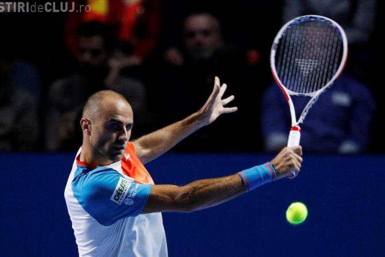 Marius Copil a pierdut finala de la Basel, în fața lui Roger Federer. Românul a acuzat dureri la picior
