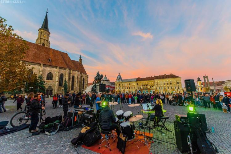Încă un weekend de concerte în stradă, la Cluj. Ce artiști vor cânta la Jazz in the Street
