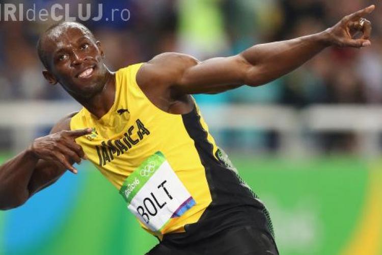 Usain Bolt s-a făcut fotbalist! A înscris primele sale goluri