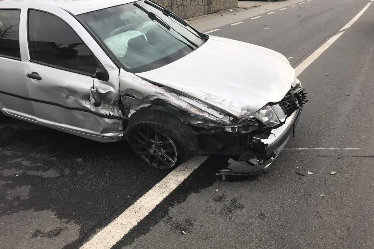 Accident cu două victime la Jucu FOTO