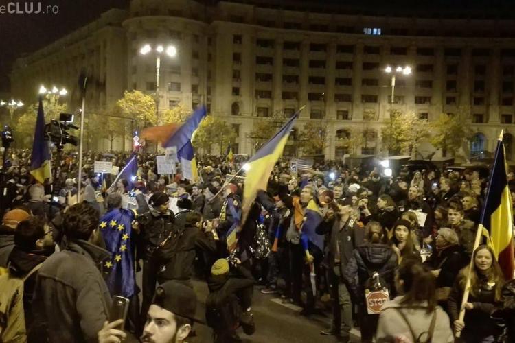 Mai mulți protestatari au executat silit Jandarmeria. Câți bani trebuie să plătească instituția