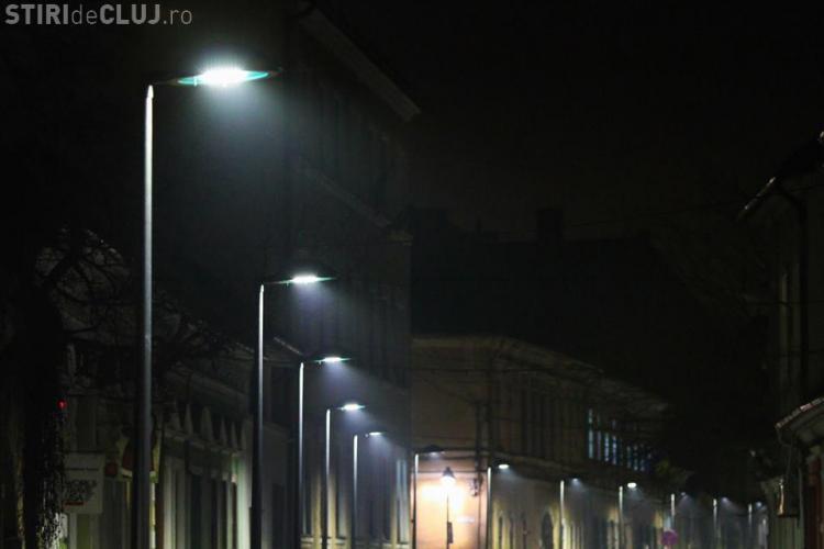 Primăria Cluj înlocuiește aparatele de iluminat din oraș cu aparate LED. Se impun restricții de circulație