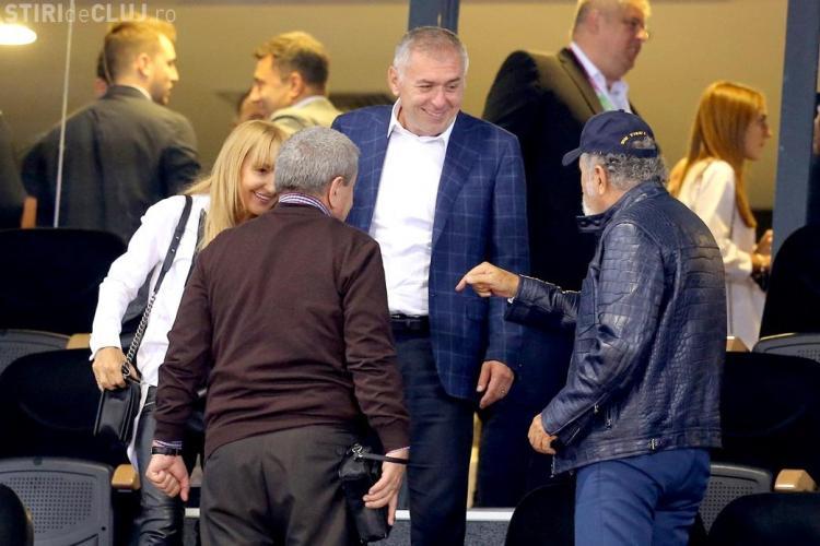 Țiriac și Emil Boc s-au întâlnit la Cluj - FOTO