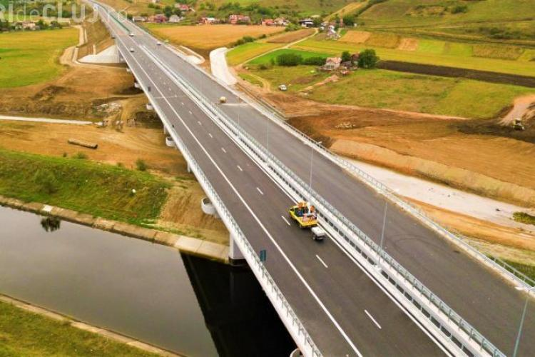 Autostrada Gilău - Nădășelu se deschide vineri. Ministrul Transporturilor nu participă din orgoliu