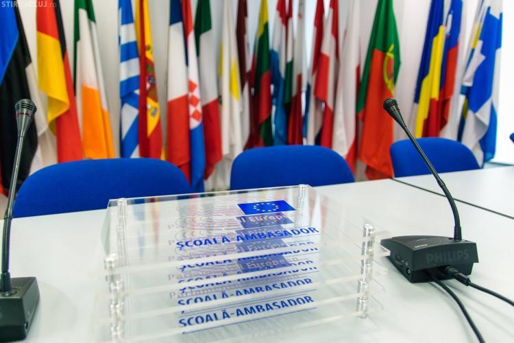 Două școli clujene sunt școli ambasador ale Parlamentului European