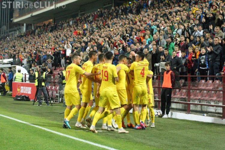 Naționala României U21 joacă un meci cu Belgia, la Cluj-Napoca. Vezi când are loc partida