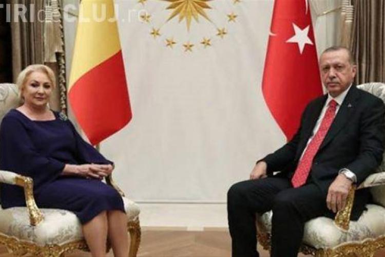 Declarația premierului Dăncilă după întâlnirea cu Erdogan: Vrea să construiască un spital regional la Constanța