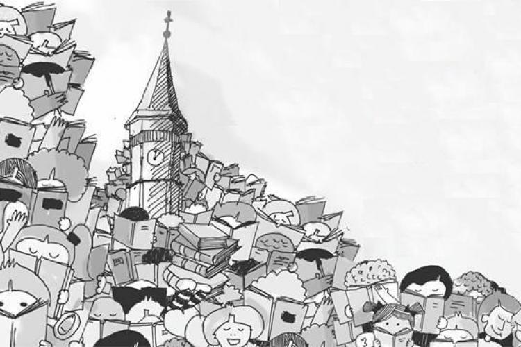 Clujul vrea să intre în Cartea Recordurilor: 10.000 de oameni care citesc într-o piață publică