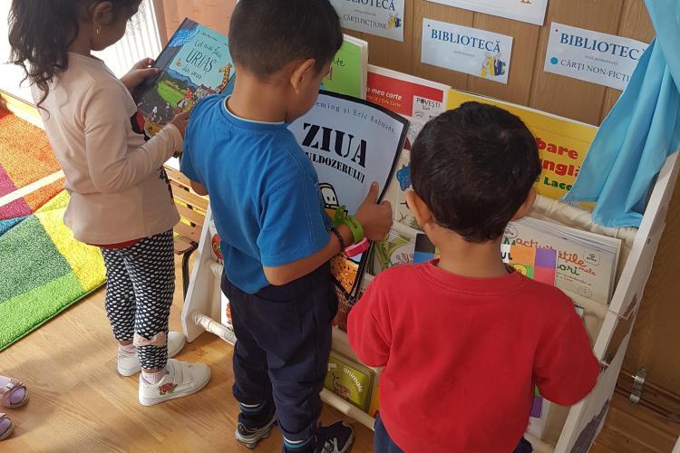 1500 de copii săraci din Cluj vor primi Prima Carte pentru acasă