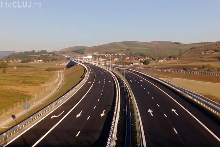 S-a INAUGURAT noua autostradă a Clujului. De când se poate circula? De rușine șefii n-au participat - FOTO