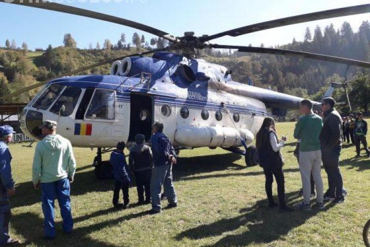 Elicopterul cu premierul Dăncilă s-a rătăcit în județul Neamț. Nu e banc