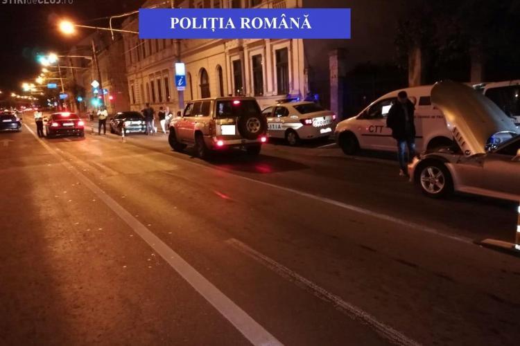 Razie de amploare la Cluj! Câți vitezomani au fost prinși într-o singură  seară FOTO