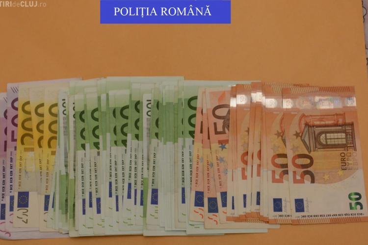 Peste 100.000 de lei și 30.000 de euro confiscați la Cluj în urma unor percheziții masive FOTO/VIDEO
