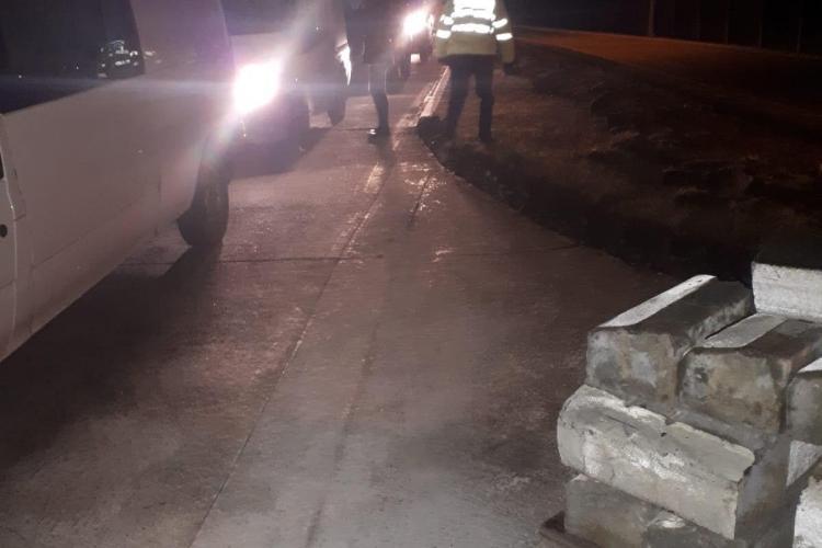 Razie de amploare în piața de la Dezmir. Câte amenzi au dat polițiștii într-o singură seară FOTO