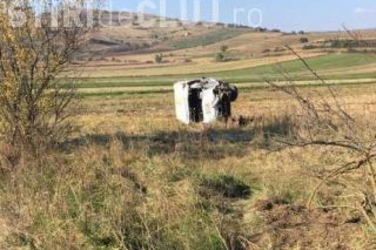 Șoferul beat la volan și fără permis care a cauzat accidentul mortal de la Iara, externat din spital și reținut de polițiști