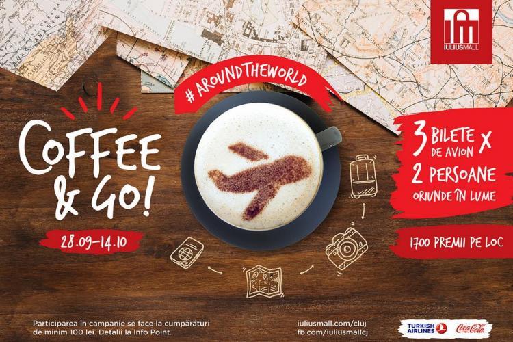 Iulius Mall Cluj te trimite să-ți savurezi cafeaua oriunde în lume