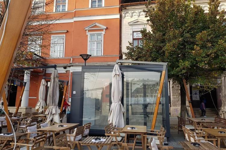 Cluj: Chioșc din bani publici la 3000 de EURO / mp, care stă gol de doi ani