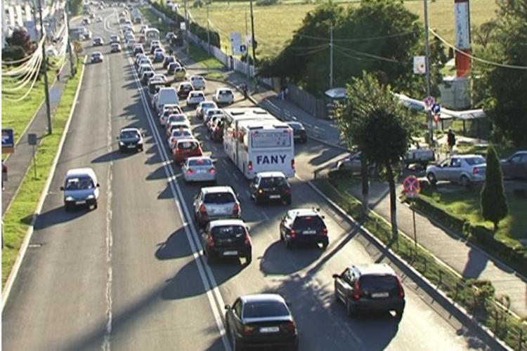 Șulea s-a săturat de blocajul în trafic de la Florești. S-a umblat la sistemul inteligent de semaforizare