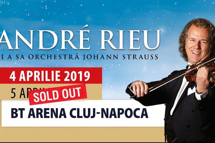 Andre Rieu sold out la Cluj în timp record. Ce țeapă și-au luat cei care s-au înghesuit