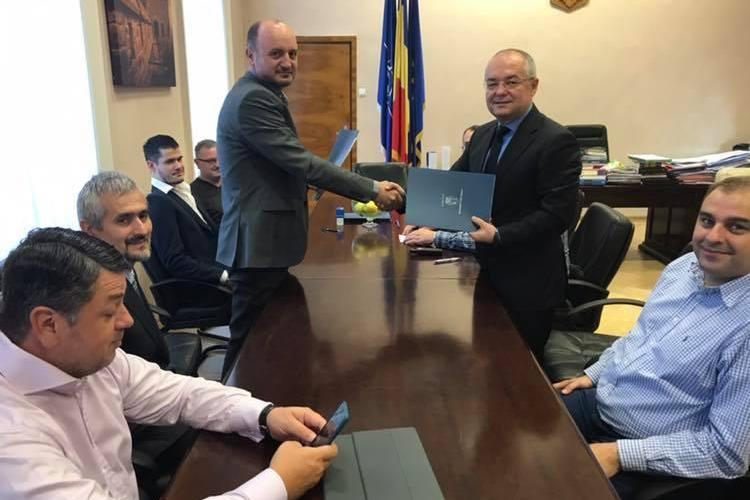 S-a semnat contractul pentru studiul de fezabilitate al Centurii Metropolitane a Clujului
