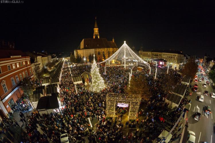 Program 1 Decembrie 2018 la Cluj. Ce concerte sunt și unde are loc focul de artificii