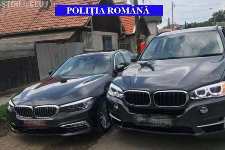 Bolizi de lux ținuți în parcarea Poliției Cluj pe durata cercetărilor - FOTO