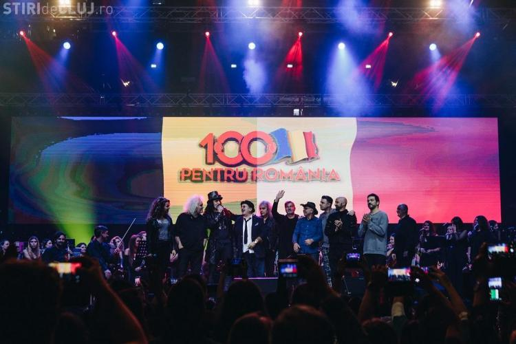 """Super concert """"100 pentru România"""", la BT Arena Cluj. Momente UNICE cu Bittman, Goia, Minculescu - VIDEO"""