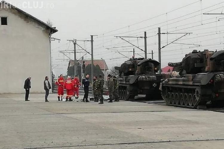 Militar clujean, electrocutat în gara din Alba Iulia, în timpul pregătirilor pentru 1 Decembrie